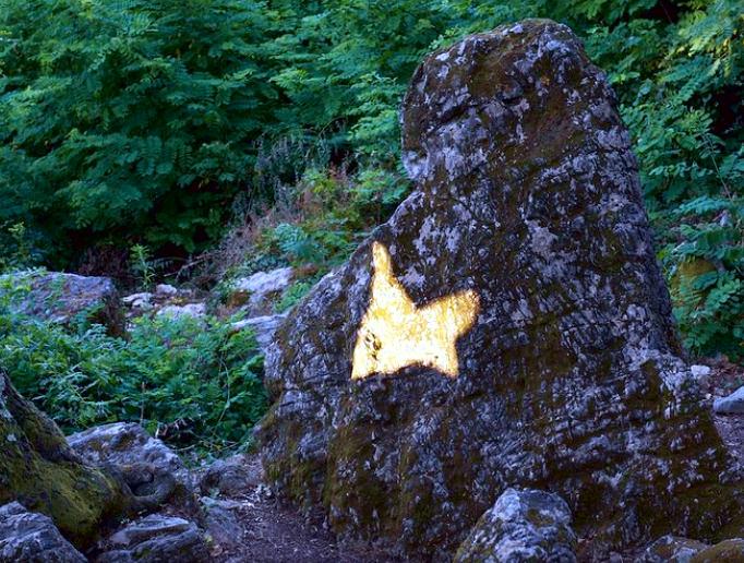 Farfalla di luce- menhir- paleolitico- parco megalitico- astronomia
