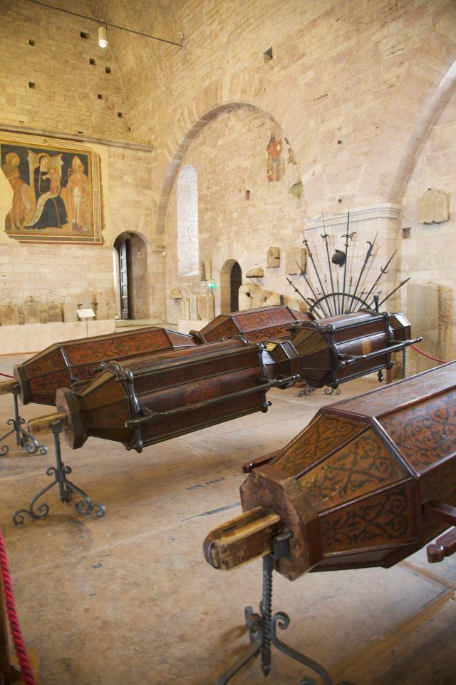 Ceri- Chiesa di Sant'Ubaldo-festa-Affreschi