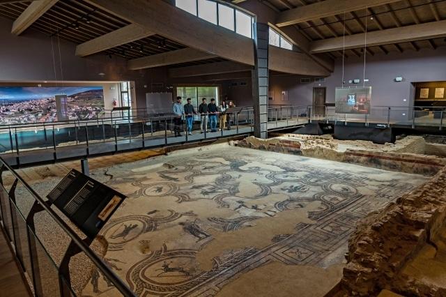 spello-villa dei mosaici-villa-romana-Museo-