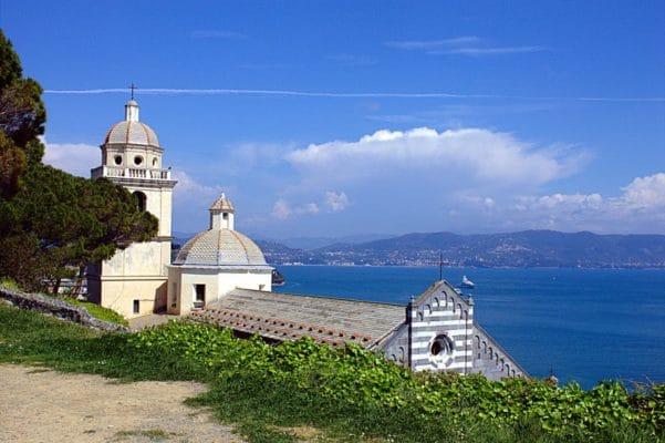 Portovenere,la perla del Golfo dei Poeti- Chiesa di San Lorenzo-Golfo dei Poeti-Mare-Panorama