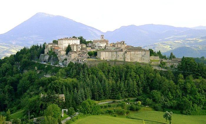 Montone-l'Umbria Medioevale-Panorama-Borgo-Natura
