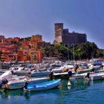 Perché soggiornare a Lerici?-Lerici-Porticciolo-Castello-Barche-case colorate-estate