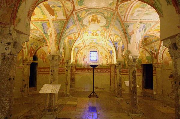 Cripta degli Affreschi- Basilica Patriarcale di Aquileia- Basilica patriarcale di Santa Maria Assunta- ciclo di affreschi