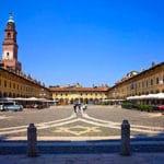 Piazza Ducale-Torre del Bramante-porticato