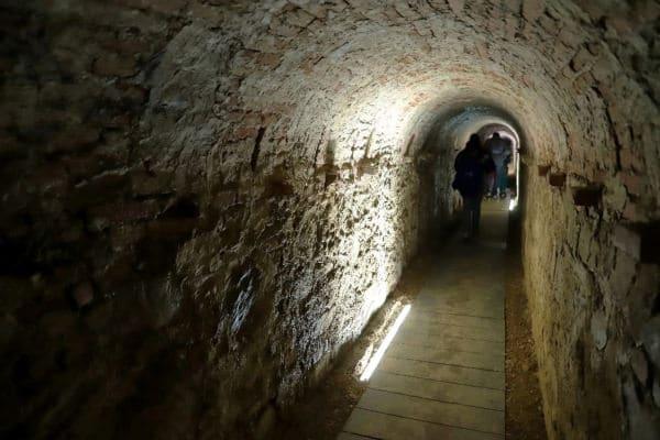 Galleria di Contromina- Bastioni-percorso sotterraneo