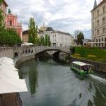 La verde Lubiana in un giorno- Triplo Ponte- Tromostovje- Ljubljanica- Battello