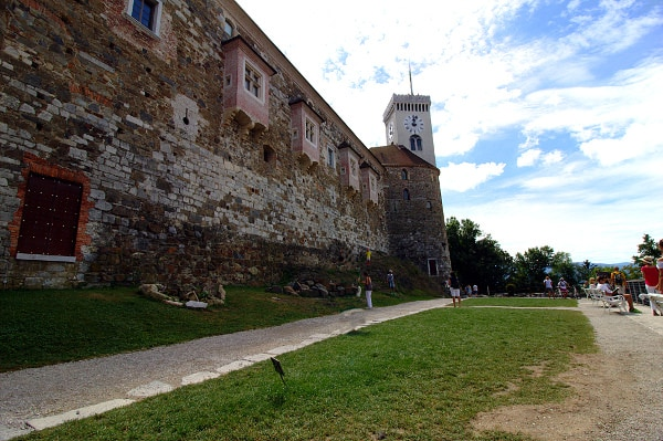 La verde Lubiana in un giorno- Castello di Lubiana-Ljubliana Grad- Mura- Torre-Grajska Planota