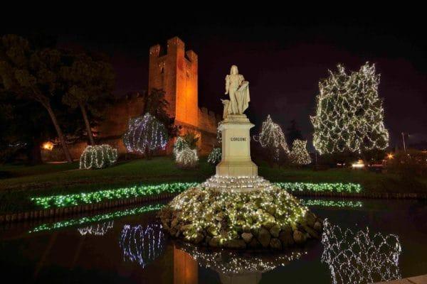 Castelfranco Veneto- Natale- Natale sotto le mura- Luci-