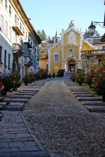 - Orta San Giulio- Alberi di Natale