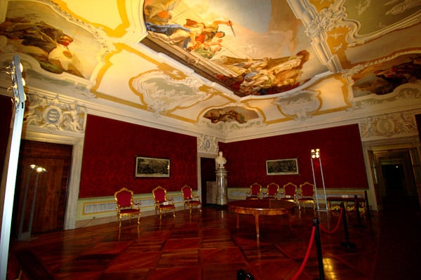 Udine in un giorno? si può!- Museo Diocesano- Sala Rossa- Gianmbattista Tiepolo-Affreschi- Palazzo Patriarcale