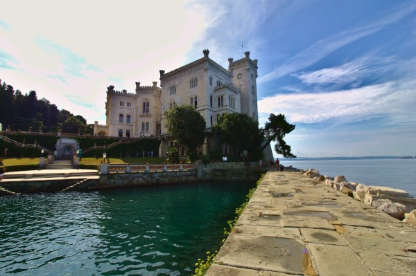 Cosa vedere a Trieste in un weekend- Castello di Miramare- dimora asburgica- Grignano-Rocca ecclettica- Parco del Castello di Miramare