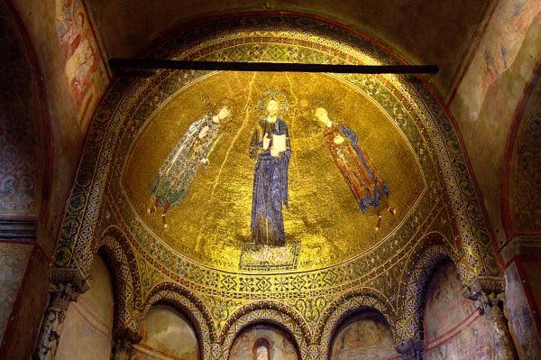 Cosa vedere a Trieste in un weekend- Cattedrale di San Giusto- Mosaici bizantino- Oro- Colle di San Giusto