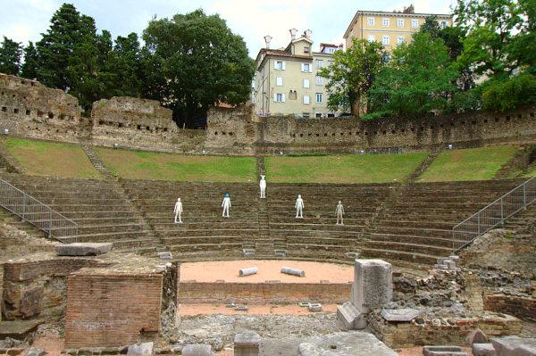Cosa vedere a Trieste in un weekend- Cavea- Teatro Romano- Colle di san Giusto