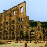 Cosa vedere ad Aosta-Teatro Romano-resti-