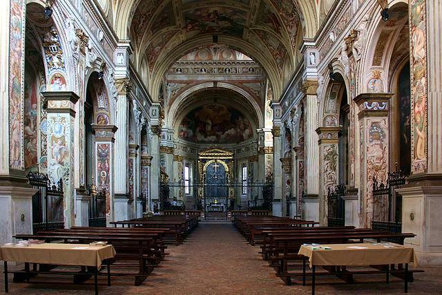 Cosa vedere a Cremona in un giorno- Mnastero di San Sigismondo- Affreschi- ciclo pittorico- manierismo