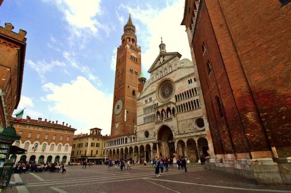 Duomo di Cremona-Piazza del Comune-Torrazzo