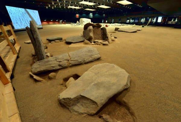 Cosa vedere ad Aosta- Area megalitica di Saint Martin de Corlèans- resti preistorici