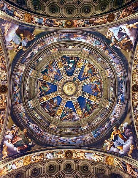 Cosa vedere a Piacenza- Basilica di Santa Maria di Campagna- Cupola del Pordenone