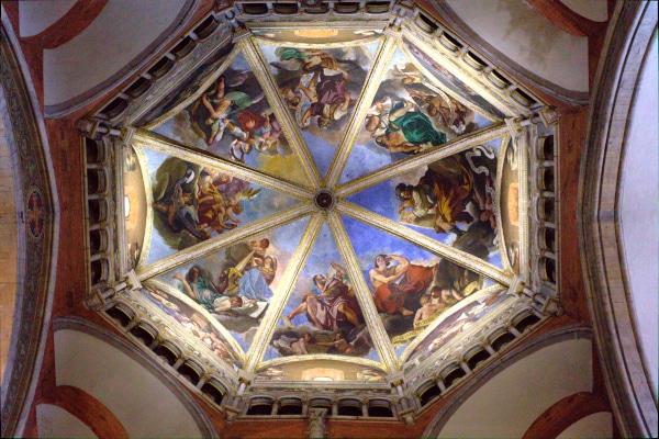 Cosa vedere a Piacenza-duomo-Cattedrale di Santa Maria Assunta e Giustina- Cupola del Guercino
