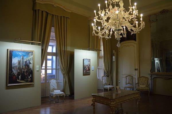 Cosa vedere ad Asti- Palazzo Mazzetti- sala Dellani- quadri