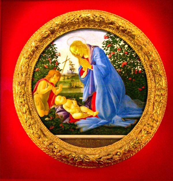 Cosa vedere a Piacenza- Tondo Botticelli- Palazzo Farnese- Pinacoteca Civica