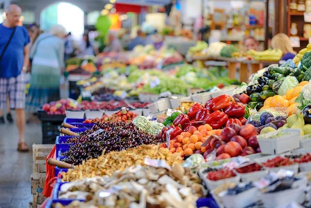 Mercato-prodotti locali- prodotti km 0