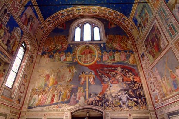 - Cappella degli Scrovegni- Giudizio Universale- Giotto