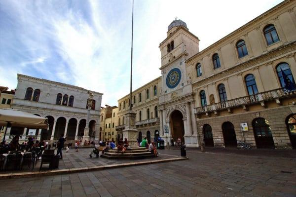 Cosa vedere a Padova-Piazza dei Signori-Torre dell'Orologio- orologio astronomico-