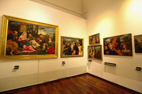 Musei civici agli eremitani- Museo di arte medievale e moderna- quadri- sala