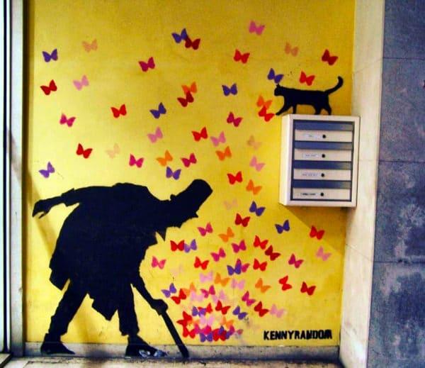 Keny Random- Murales- Street Art- colori