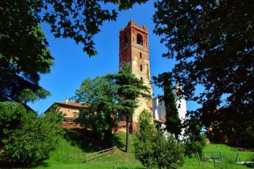 cosa vedere a Castefranco Veneto i poche ore- Duomo- campanile-alberi- merlature