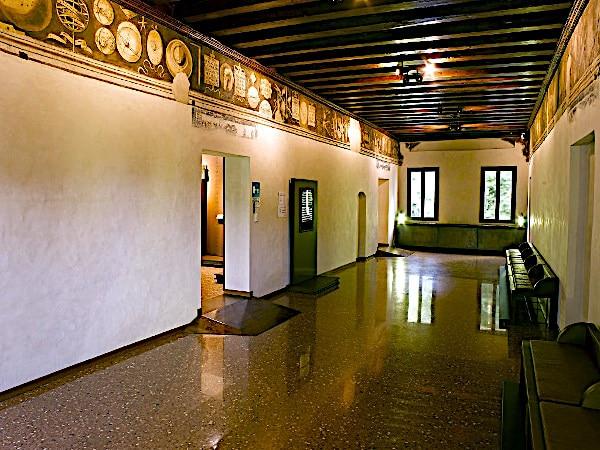 Casa Giorgione- Sala del Fregio delle arti liberali e meccaniche-museo
