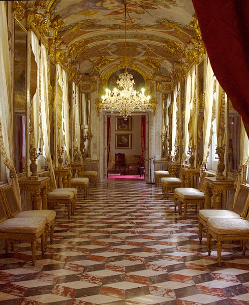Musei d'arte meno conosciuti da vedere in Italia- Galleria degli Specchi- Palazzo Spinola- Genova- Secondo Piano Nobile
