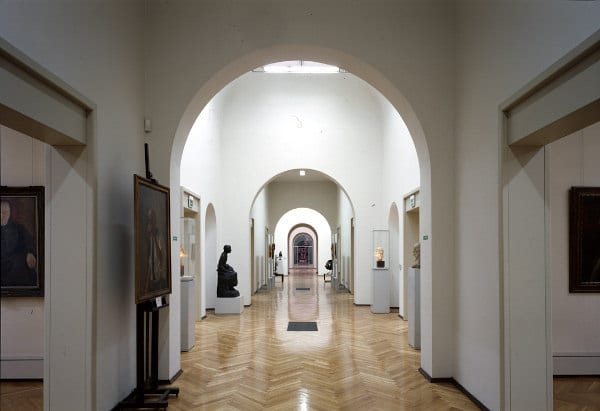 Galleria Ricci Oddi- Sala Laterale- Arte Moderna