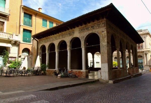 Cosa vedere a Treviso in un giorno- Loggia dei Cavalieri- Affreschi medievali-