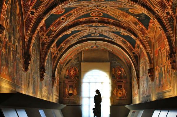 Musei d'arte meno conosciuti da vedere in Italia- Pellegrinaio-Santa Maria della Scala- Siena