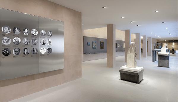 Musei civici di Treviso- Museo Bailo-arte contemporanea- scultura- pittura