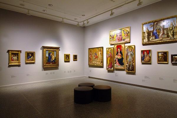 Musei d'arte meno conosciuti da vedere in Italia- Accademia Carrara- Bergamo- sala- quadri