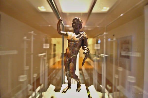 Musei Civici Santa Caterina-Treviso- Sezione archeologica- Bronzetto di età romana