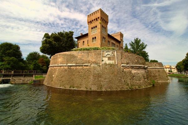 Fiume Sile- Castello Romano- Riviera Garibaldi