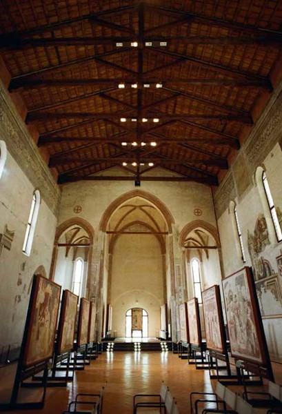 Chiesa di Santa Caterina- Musei Civici- Treviso- Ciclo di Sant'Orsola- Tomaso da Modena- affreschi