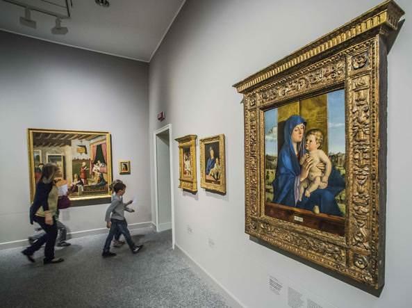 Musei d'arte meno conosciuti da vedere in Italia- Quadro-sala-Accademia Carrara