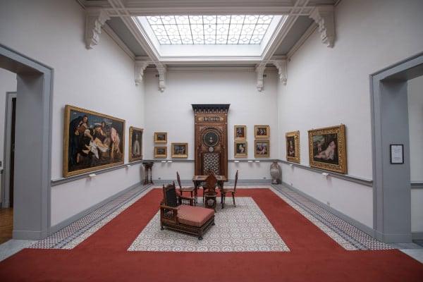 Sala Araba- Museo Borgogna-Vercelli-quadri