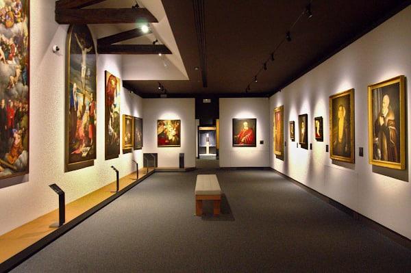 Musei d'arte meno conosciuti da vedere in Italia- Musei Civici di Santa Caterina- Treviso- Pinacoteca Civica- Sala dei Ritratti