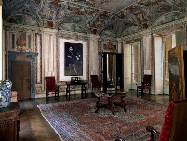 Musei d'arte meno conosciuti da vedere in Italia- Galleria Palazzo Spinola- Genova- Salone Primo Piano-