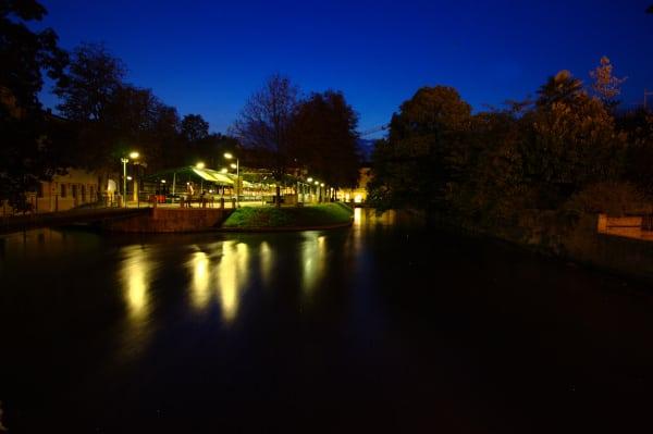 Miti e Leggende di Treviso- Isola della Pescheria- luci-notte