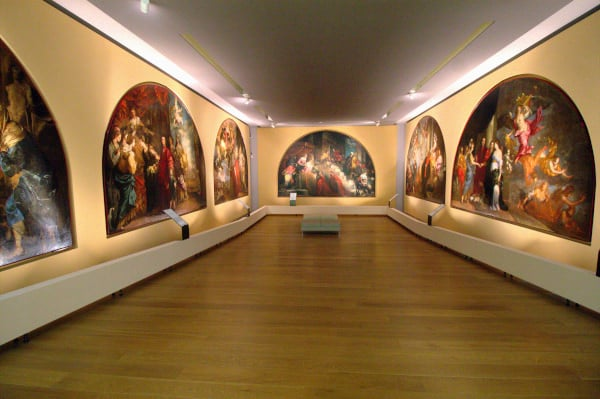 Pinacoteca civica- Palazzo Chiericati- Sala dei sette Lunettoni- Lunettoni civici