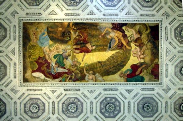 Cosa vedere a Vicenza- Palazzo Leoni Montanari- Gallerie d'Italia- affresco-stucchi