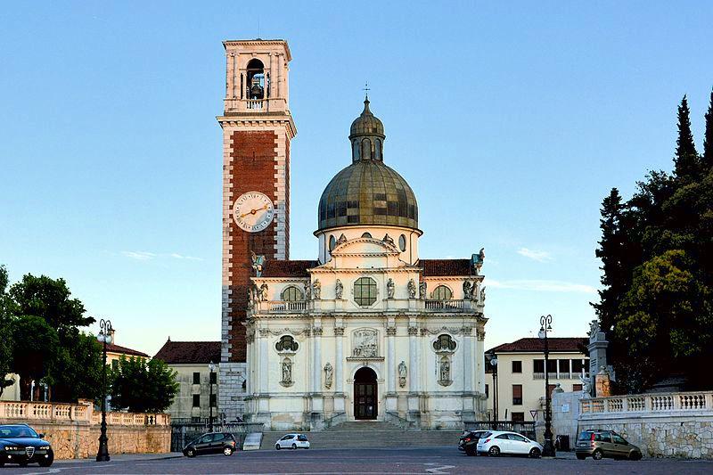Cosa vedere a Vicenza- Santuario di Monte Berico- Barocco- Cupola- Campanile