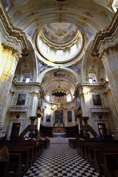 Duomo di Bg-Interno-Cattedrale di Sant'Alessandro-Barocco
